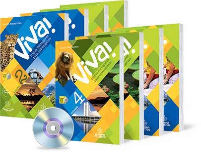 Coleção Viva vol. 1, 2, 3 e 4